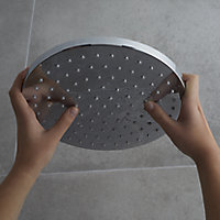 GoodHome Cavally Single-spray pattern Shower head