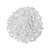 GoodHome Cicely White Cover cap, Pack of 250