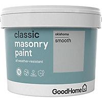 GoodHome Classic Oklahoma Smooth Matt Masonry paint, 10L