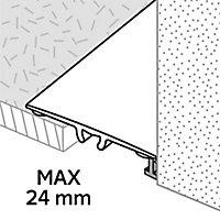 GoodHome DECOR 35 Matt Gold effect Threshold (L)93cm