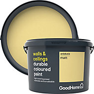 GoodHome Durable Andalusia Matt Emulsion paint 2.5L