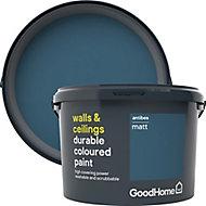 GoodHome Durable Antibes Matt Emulsion paint, 2.5L