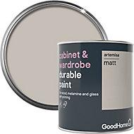 GoodHome Durable Artemisa Matt Cabinet & wardrobe paint, 750ml
