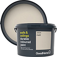 GoodHome Durable Cancun Matt Emulsion paint, 2.5L