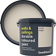GoodHome Durable Cancun Matt Emulsion paint 5L