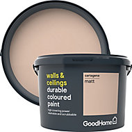 GoodHome Durable Cartagena Matt Emulsion paint, 2.5L