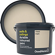 GoodHome Durable Chiapas Matt Emulsion paint, 2.5L