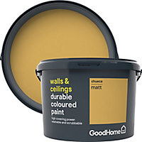 GoodHome Durable Chueca Matt Emulsion paint, 2.5L