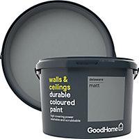 GoodHome Durable Delaware Matt Emulsion paint, 2.5L