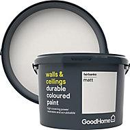 GoodHome Durable Fairbanks Matt Emulsion paint, 2.5L