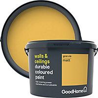 GoodHome Durable Gran via Matt Emulsion paint 2.5L