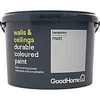 GoodHome Durable Hamptons Matt Emulsion paint, 2.5L