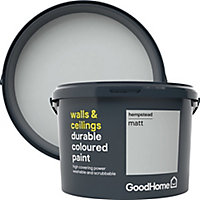 GoodHome Durable Hempstead Matt Emulsion paint 2.5L