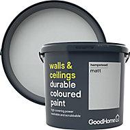GoodHome Durable Hempstead Matt Emulsion paint, 5L