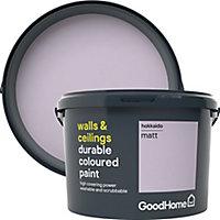GoodHome Durable Hokkaido Matt Emulsion paint, 2.5L