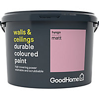 GoodHome Durable Hyogo Matt Emulsion paint 2.5L