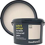 GoodHome Durable Juneau Matt Emulsion paint, 2.5L