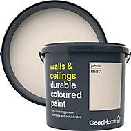 GoodHome Durable Juneau Matt Emulsion paint, 5L