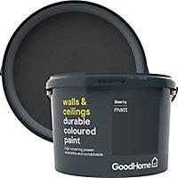 GoodHome Durable Liberty Matt Emulsion paint, 2.5L