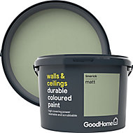 GoodHome Durable Limerick Matt Emulsion paint 2.5L