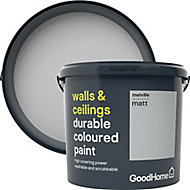 GoodHome Durable Melville Matt Emulsion paint, 5L