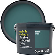 GoodHome Durable Milltown Matt Emulsion paint 2.5L