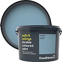 GoodHome Durable Monaco Matt Emulsion paint, 2.5L