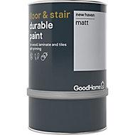 GoodHome Durable New haven Matt Floor & stair paint, 750ml