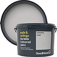 GoodHome Durable Philadelphia Matt Emulsion paint, 2.5L