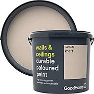 GoodHome Durable Santa fe Matt Emulsion paint, 5L