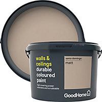 GoodHome Durable Santo domingo Matt Emulsion paint, 2.5L
