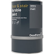 GoodHome Durable Sedona Matt Floor & stair paint, 750ml