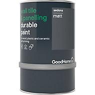 GoodHome Durable Sedona Matt Wall tile & panelling paint, 750ml