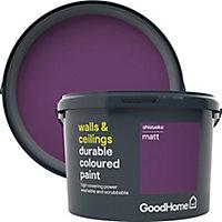 GoodHome Durable Shizuoka Matt Emulsion paint, 2.5L