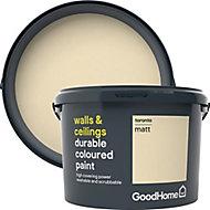 GoodHome Durable Toronto Matt Emulsion paint, 2.5L