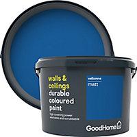 GoodHome Durable Valbonne Matt Emulsion paint, 2.5L