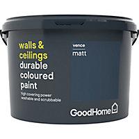 GoodHome Durable Vence Matt Emulsion paint 2.5L