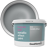 GoodHome Feature wall Bel air Metallic effect Emulsion paint, 2L