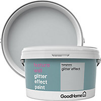 GoodHome Feature wall Hamptons Glitter effect Emulsion paint 2L