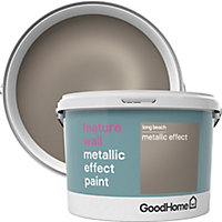 GoodHome Feature wall Long beach Metallic effect Emulsion paint 2L