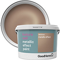 GoodHome Feature wall Santa cruz Metallic effect Emulsion paint 2L
