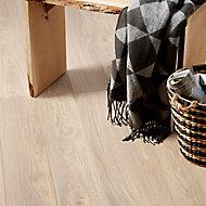 GoodHome Gawler Ash effect Laminate Flooring, 2.06m² Pack