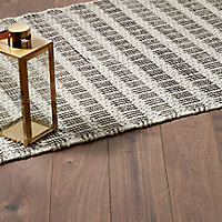 GoodHome Gladstone Dark oak effect Laminate Flooring, 1.996m² Pack