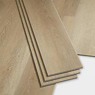 GoodHome Gospel Natural Wood effect Luxury vinyl click flooring, 1.95m² Pack