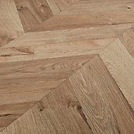 GoodHome Heanor Light oak effect Laminate Flooring, 2.7m² Pack