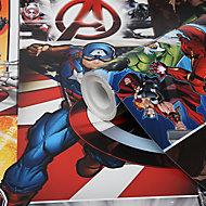GoodHome Heimia Multicolour Avengers Smooth Wallpaper