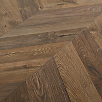 GoodHome Helston Natural Dark oak effect Laminate flooring, 2.7m² Pack