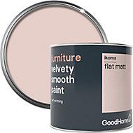 GoodHome Ikoma Flat matt Furniture paint, 500ml