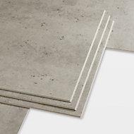 GoodHome Jazy Beige Tile effect Luxury vinyl click flooring, 2.23m² Pack
