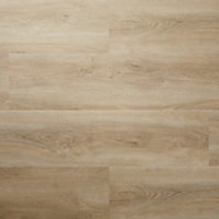 GoodHome Jazy Natural Wood effect Luxury vinyl click flooring, 2.24m² Pack